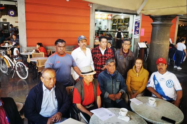 Con acusaciones quieren impedir toma de nota del Suntuap: líder