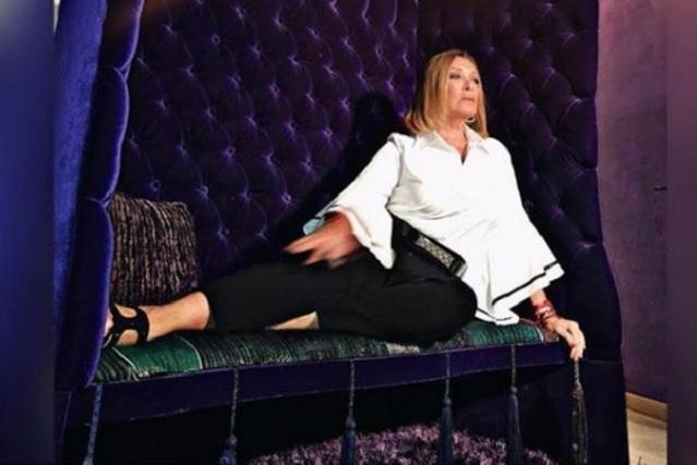 Sylvia Pasquel sorprende con desnudo en Festival de Cine de Morelia