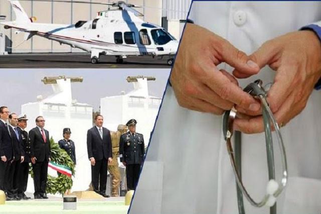 Gasta Puebla más de 1,500 mdp en ceremonias y viajes en 3 años