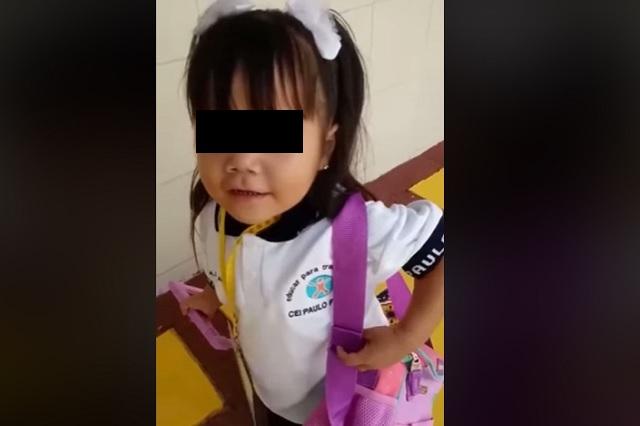 Video: menor se hace viral por narrar su primer día de clases
