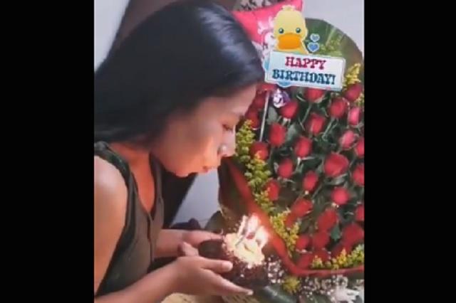 Video: Yalitza Aparicio recibe tierno regalo de su novio por su cumpleaños