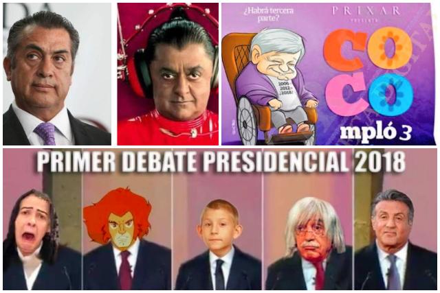 ¡Más memes del debate presidencial!