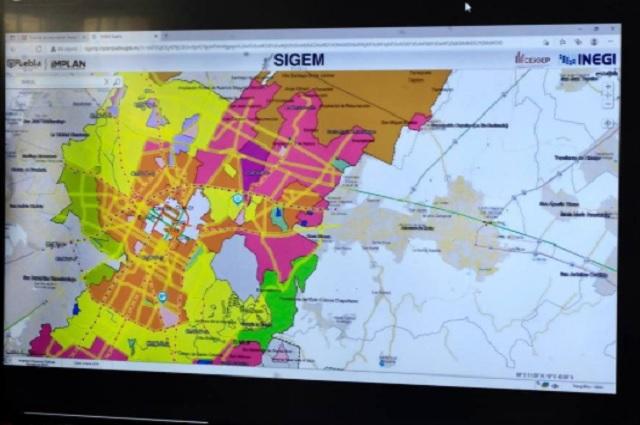Crean portal web con información estadística y geográfica de Puebla