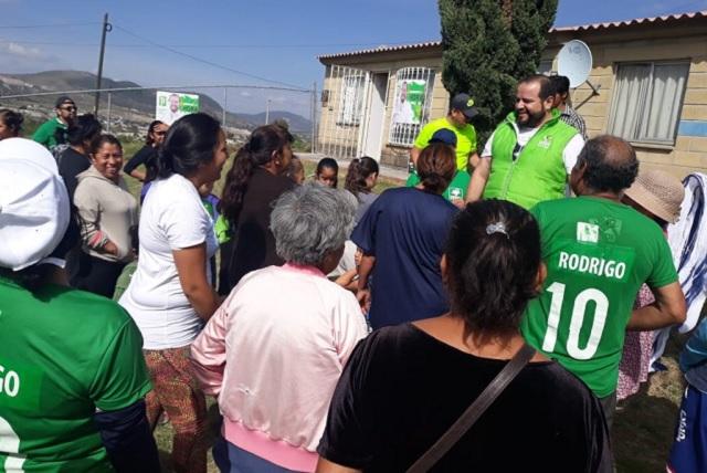 Ratifica López Portillo compromisos con el distrito 11