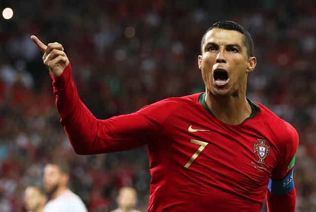 Mira el triplete de Ronaldo y los goles del empate de España vs Portugal