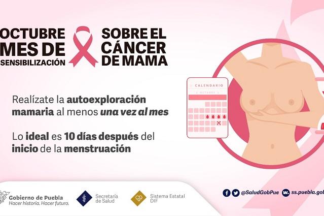 """Realizan la """"Feria de la Salud por las Mujeres"""" en Puebla capital"""