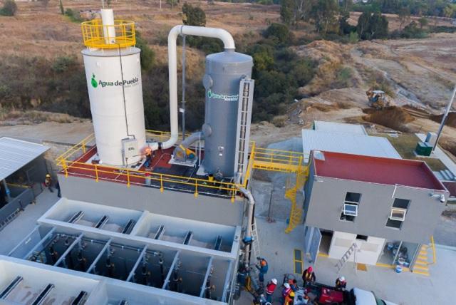 Nuevo pozo de agua beneficia a usuarios del centro de Puebla