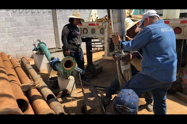Suspenden mantenimiento a pozos en Tehuacán por Covid-19