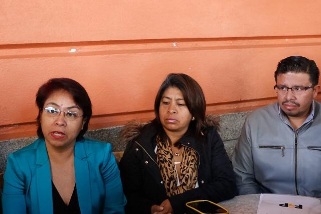 Por falsificación de firmas denuncian a dirigentes del PRD