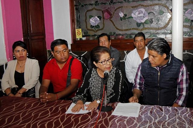 Piden perredistas inclusión en la campaña a la gubernatura