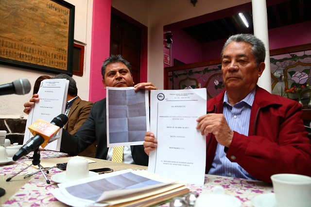 Loyola y Rendón suponen que dirigencia del PRD los amenaza