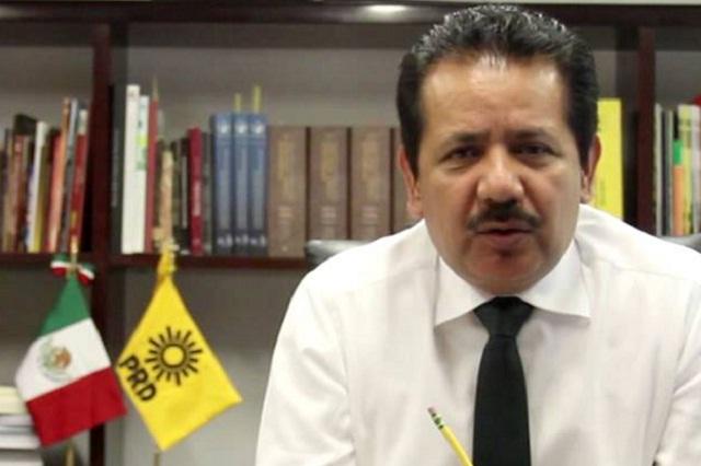 PRD denuncia albazo del PRI en ley de propaganda gubernamental