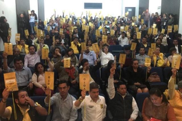 Lanza el PRD a expriístas como candidatos a diputados locales
