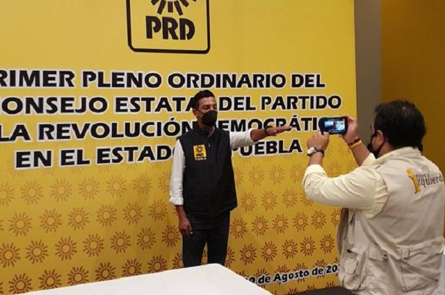 Perredistas de Monterrey van contra elección del PRD Puebla