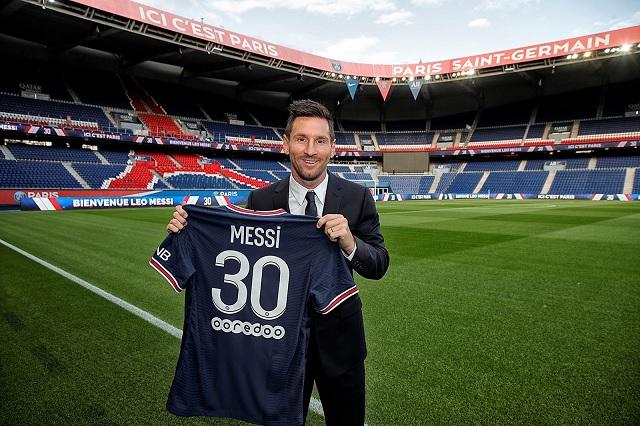 Camiseta de Messi con el PSG supera los 4 mil pesos