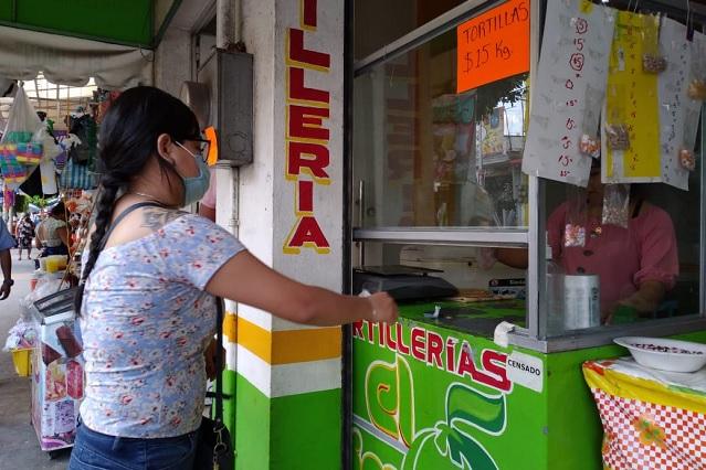Sin autorización en Tehuacán aumentan precio del kilo de tortilla