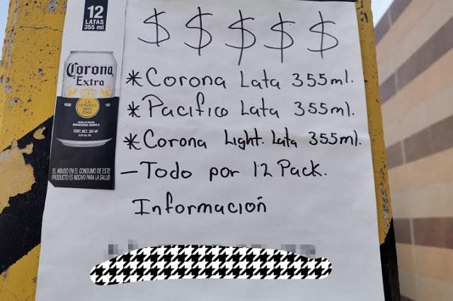 Ante escasez, duplican el precio de la cerveza en Puebla