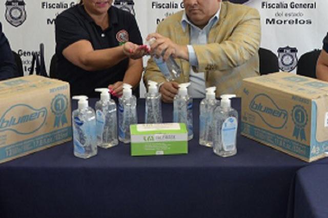 Conoce los precios de cubrebocas y gel antibacterial establecidos por la Profeco