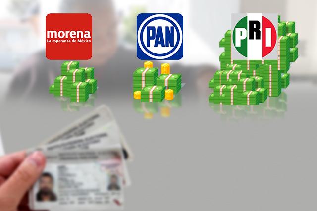 Cada voto costó a Barbosa 35 pesos; a Cárdenas, 77 y a Jiménez, 134