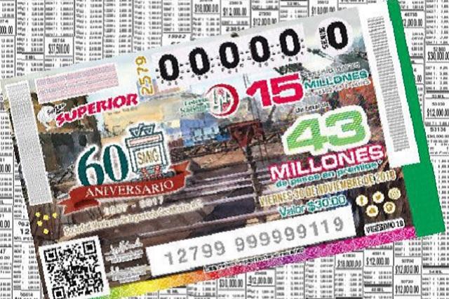 ¡Cae en Puebla el premio mayor de la Lotería!