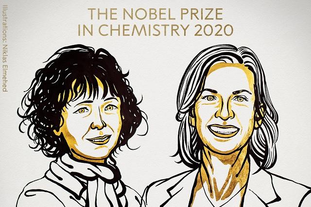Ganan Nobel de Química a creadoras de edición del genoma