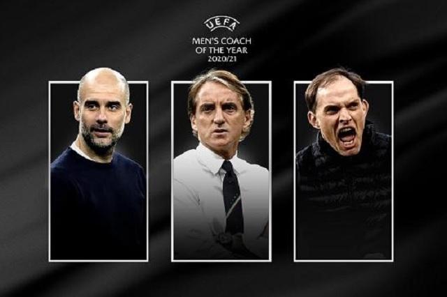 Guardiola, Mancini y Tuchel, nominados a Entrenador del Año
