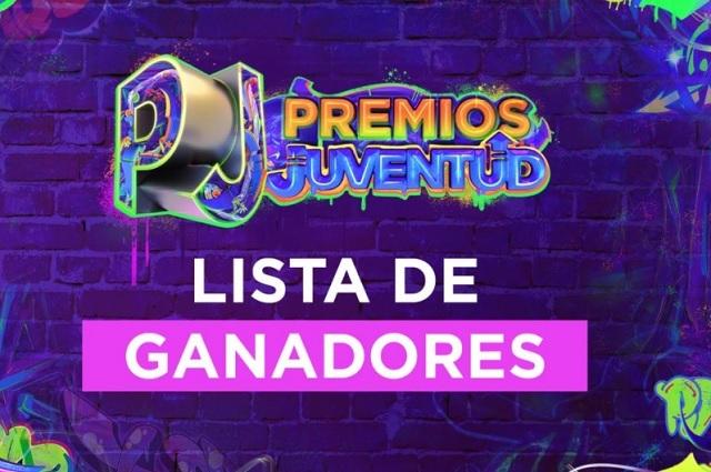 Esta es la lista completa de los ganadores de Premios Juventud