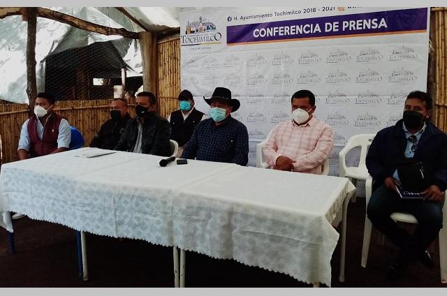 En Tochimilco piden al Estado defender el territorio poblano