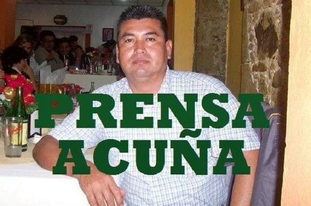 Atacan a balazos al periodista Rodrigo Acuña en Veracruz