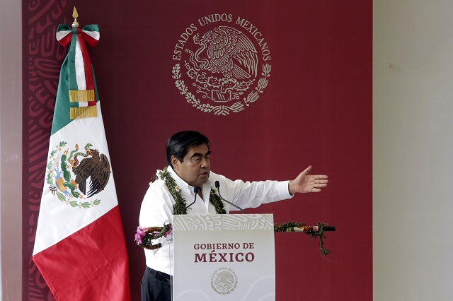 Promete Barbosa convertir a Canoa en municipio autónomo