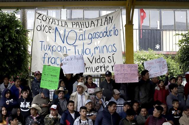 Prevén año de protestas contra proyectos extractivos en Puebla