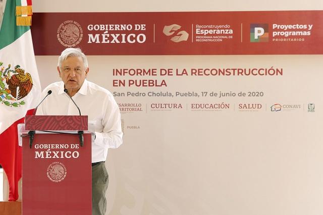 AMLO estará en Puebla, Atlixco y Tlaxcala, el fin de semana