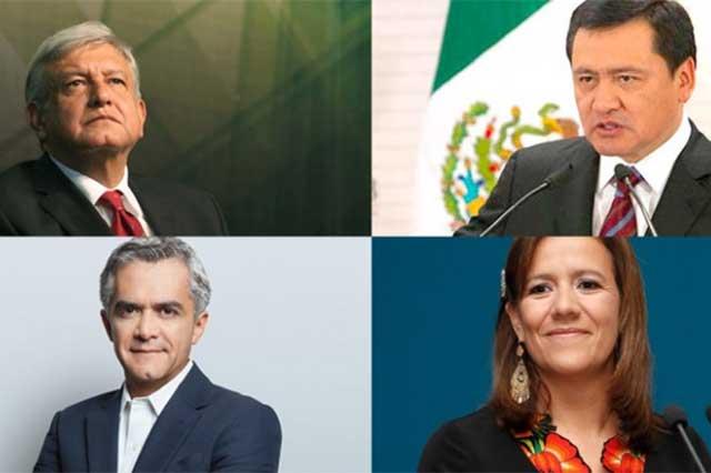 Propone senador Barbosa un debate entre Mancera, AMLO, Chong y Zavala