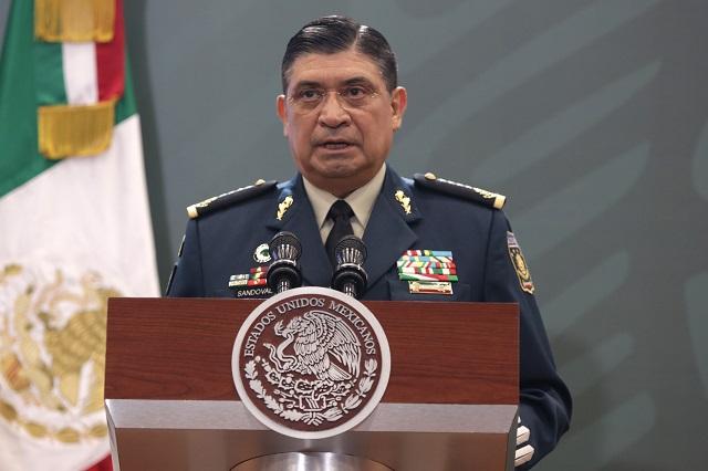 Desaparece de las mañaneras el Secretario de Defensa, Cresencio Sandoval
