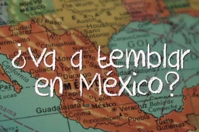 La Presidencia responde a quienes preguntan si va a temblar en México
