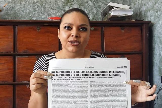 Niega acusaciones titular del comisariado de Romero Vargas