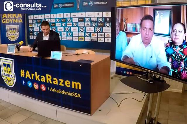 Javier Tirado niega uso del erario en patrocinio al Club Polonia