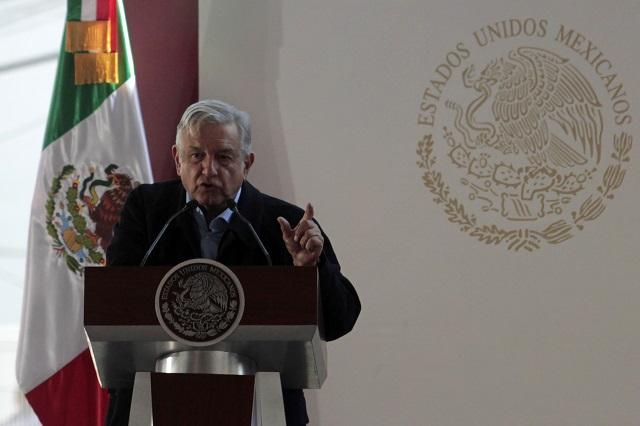 Erradicar fraude electoral y vigilar elección en Puebla, exige AMLO