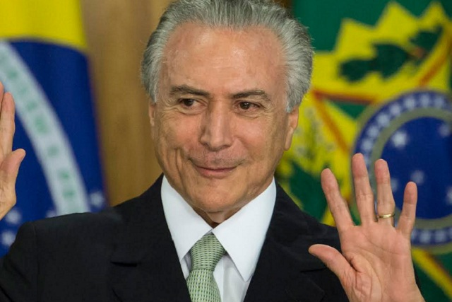 Acusan al presidente de Brasil de ser el jefe de una organización criminal