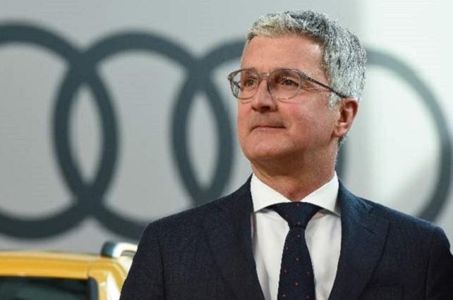 Capturan al presidente ejecutivo de Audi por escándalo de alteración de motores