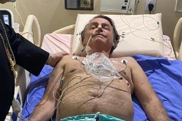 Presidente de Brasil continúa hospitalizado