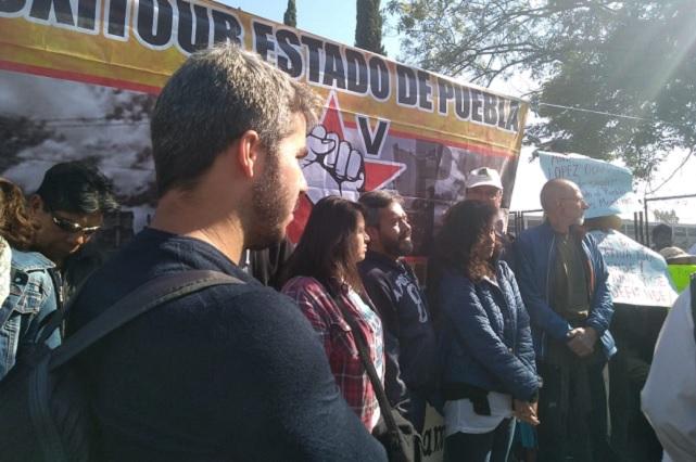 Presionarán eurodiputados a empresas que ensucian Puebla