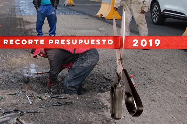 Recortan año con año dinero para obras en colonias de Puebla