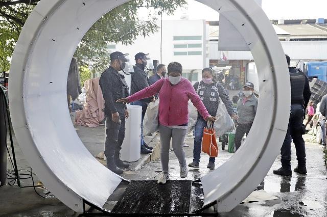 ITAIPUE renta túnel sanitizante pese a no ser recomendado por Salud
