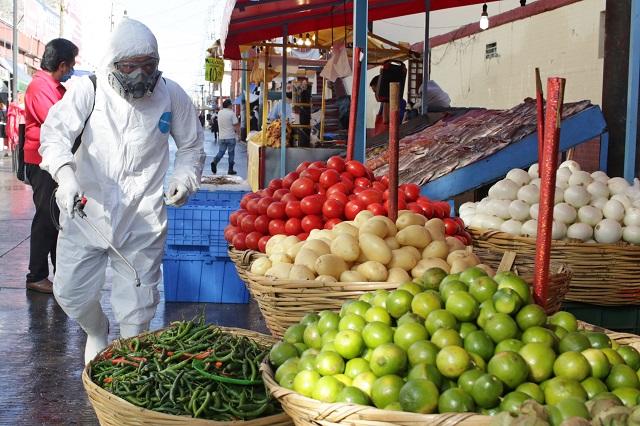 Proponen estrategia contra contagios en mercado 5 de Mayo