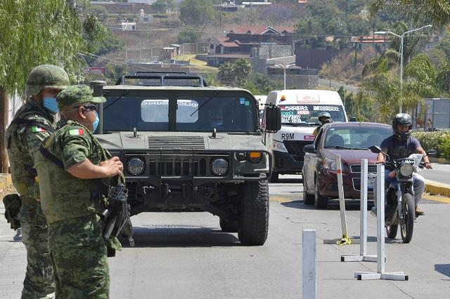 Controlará el Ejército 34 hospitales contra Covid-19