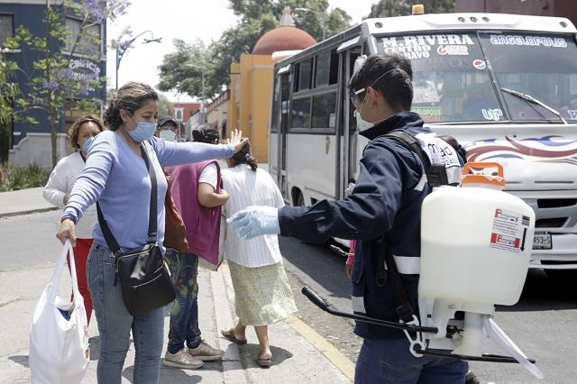 Muere 1 de cada 11 pacientes de Covid-19 en Puebla