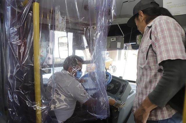 Cambian trayecto 73 rutas de transporte por cierre del Centro de Puebla