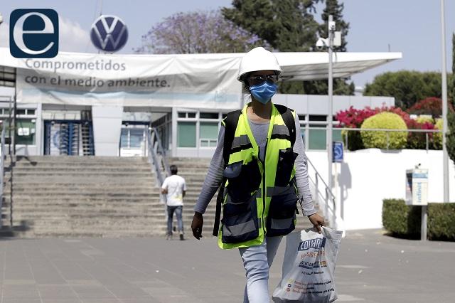 A paro 30 mil obreros poblanos por crisis en industria automotriz