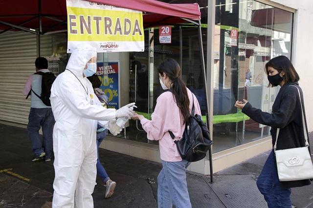 ¡Alerta! Puebla capital lidera en el país contagios activos de Covid